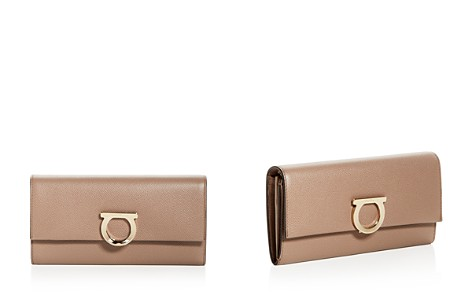 Salvatore Ferragamo Gancini Convertible Leather Wallet - Bloomingdale's_2