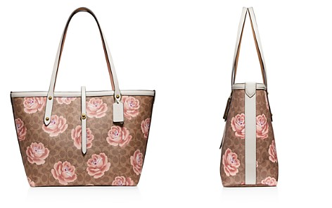 COACH Market Large Floral Print Leather Tote - Bloomingdale's_2
