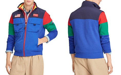 Polo Ralph Lauren Hi Tech Mixed-Media Vest - Bloomingdale's_2
