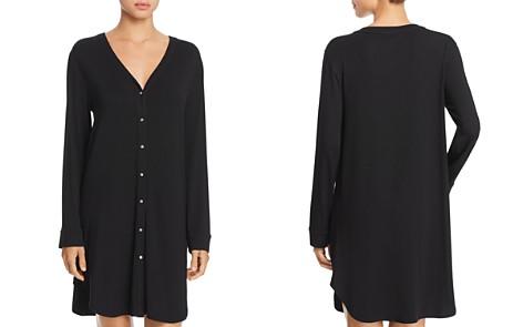 Josie V-Neck Knit Sleepshirt - Bloomingdale's_2
