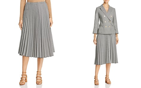Donna Karan New York Pleated Midi Skirt - Bloomingdale's_2