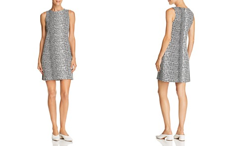 AQUA Animal Print Shift Dress - 100% Exclusive - Bloomingdale's_2