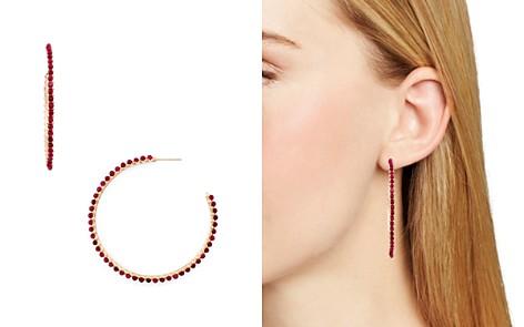 Kendra Scott Birdie Stone Hoop Earrings - Bloomingdale's_2