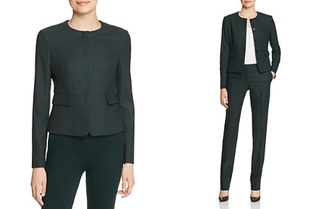 BOSS Jokile Cropped Jacket - Bloomingdale's_2