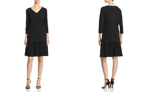 Lafayette 148 New York Larsa Flutter-Hem Dress - Bloomingdale's_2