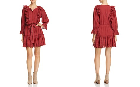 La Vie Rebecca Taylor Cotton Ruffle-Trim Dress - Bloomingdale's_2