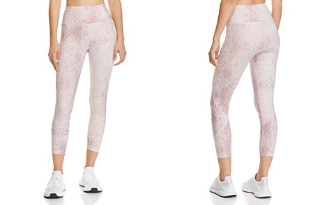 Varley Kensington Snake Print Cropped Leggings - Bloomingdale's_2