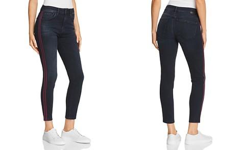 Mavi Tess Side-Stripe Crop Skinny Jeans in Ink Stripe - Bloomingdale's_2