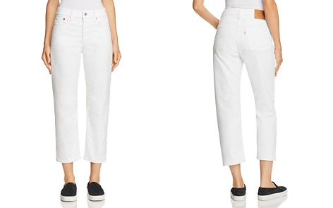 Levi's Wedgie Straight Corduroy Jeans in Marshmallow - Bloomingdale's_2