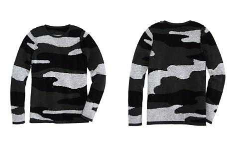 AQUA Girls' Camo-Print Cashmere Sweater, Big Kid - 100% Exclusive - Bloomingdale's_2