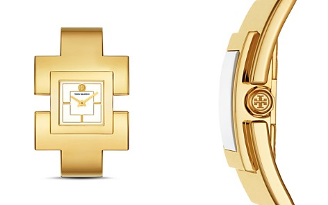 Tory Burch The T Bangle Watch, 25mm - Bloomingdale's_2