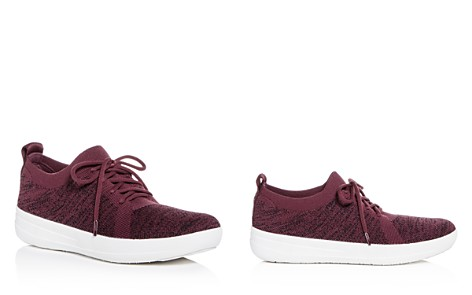 FitFlop Women's F-Sporty Uberknit Lace Up Sneakers - Bloomingdale's_2