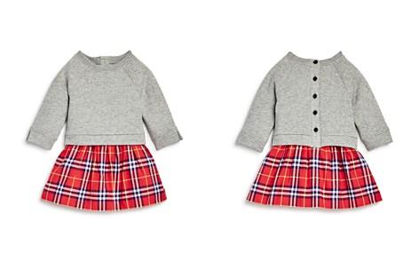Burberry Girls' Francine Check Skirt Sweatshirt Dress - Baby - Bloomingdale's_2