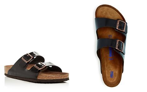 Birkenstock Men's Arizona Leather Slide Sandals - Bloomingdale's_2