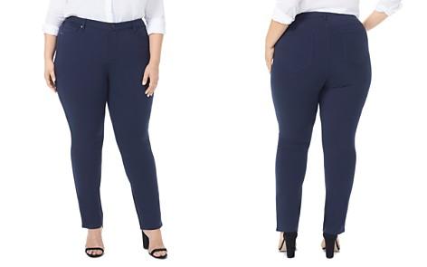 NYDJ Plus Sheri Slim Ponte Pants - 100% Exclusive - Bloomingdale's_2