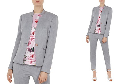 Ted Baker Daizi Textured Tailored Blazer - Bloomingdale's_2