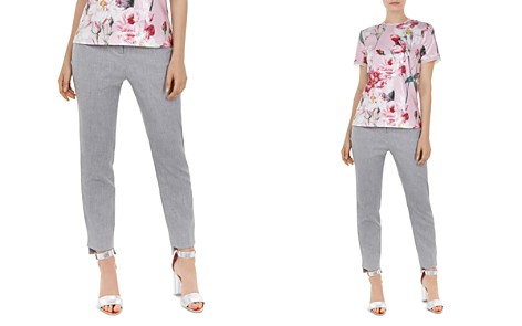 Ted Baker Daizit Textured Straight-Leg Pants - Bloomingdale's_2