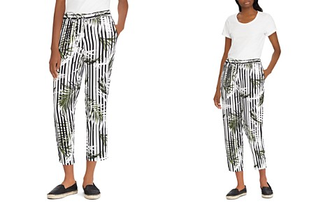 Lauren Ralph Lauren Printed Drawstring Crop Pants - Bloomingdale's_2