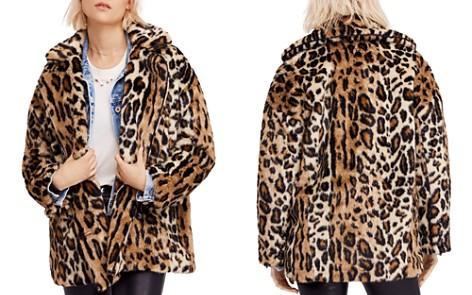 Free People Kate Faux-Fur Leopard Coat - Bloomingdale's_2
