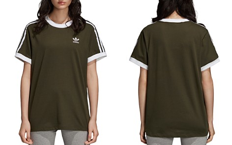 adidas Originals Three Stripe Jersey Tee - Bloomingdale's_2