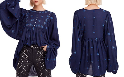 Free People Kiss From a Rose Tunic Top - Bloomingdale's_2