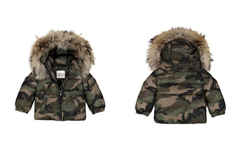 SAM. Unisex Camo-Print Fur-Trimmed Down Jacket - Baby - Bloomingdale's_2