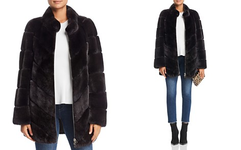 Maximilian Furs Rabbit Fur Coat- 100% Exclusive - Bloomingdale's_2