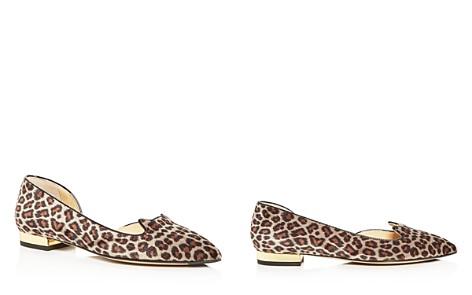 Charlotte Olympia Women's Leopard Print Velvet Flats - Bloomingdale's_2