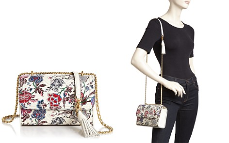 Tory Burch Fleming Small Convertible Floral Leather Shoulder Bag - Bloomingdale's_2