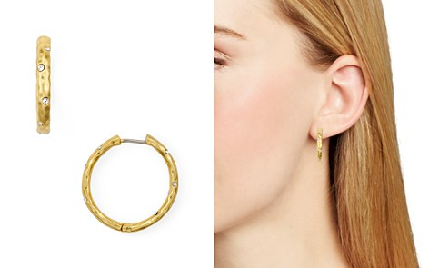 kate spade new york Huggie Hoop Earrings - Bloomingdale's_2