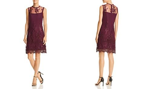 nanette Nanette Lepore Sleeveless Illusion Embroidered Dress - Bloomingdale's_2