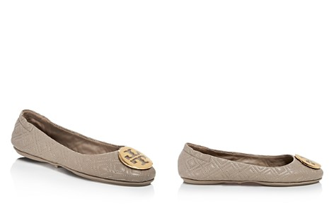 Tory Burch Women's Minnie Quilted Leather Travel Ballet Flats - Bloomingdale's_2