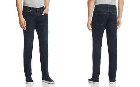 7 For All Mankind Straight Slim Fit Jeans in Contrast - Bloomingdale's_2