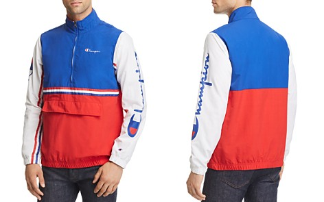 Champion Reverse Weave Half-Zip Pullover Windbreaker Jacket - Bloomingdale's_2