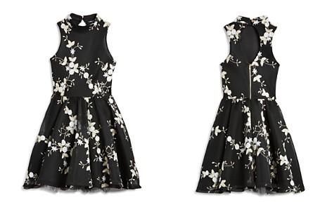 Miss Behave Girls' Grace Mesh Floral Dress - Big Kid - Bloomingdale's_2