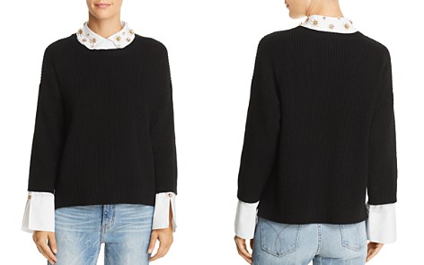 Joie Manami Layered-Look Sweater - Bloomingdale's_2