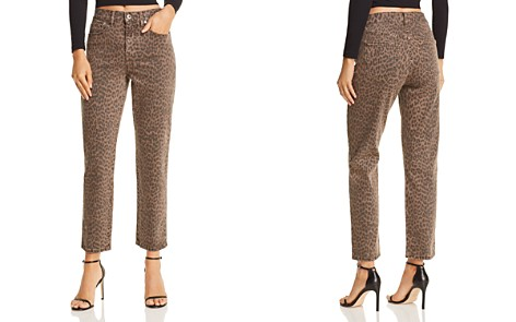 Pistola Monroe High-Rise Leopard Print Cigarette Jeans in Wilder - 100% Exclusive - Bloomingdale's_2