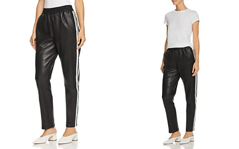 Veda Rival Leather Track Pants - Bloomingdale's_2