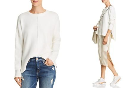 AQUA Side-Zip High/Low Sweater - 100% Exclusive - Bloomingdale's_2