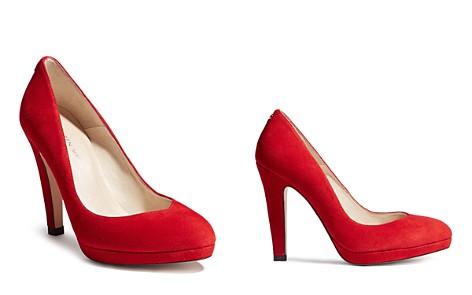KAREN MILLEN Women's Suede Platform High-Heel Court Pumps - Bloomingdale's_2