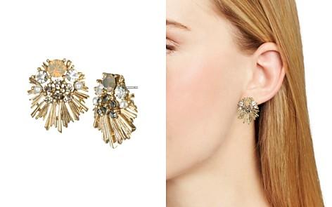 Badgley Mischka Statement Stud Earrings - Bloomingdale's_2