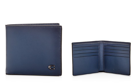 COACH Leather Bi-Fold Wallet - Bloomingdale's_2