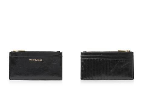MICHAEL Michael Kors Money Pieces Large Slim Leather Card Case - Bloomingdale's_2