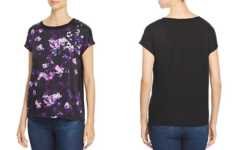 Donna Karan New York Sequined Abstract Print Top - Bloomingdale's_2