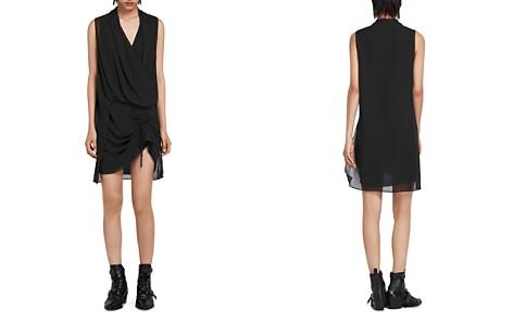 ALLSAINTS Cathea Draped Dress - Bloomingdale's_2