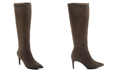 Charles David Women's Parish Pointed Toe Suede & Leather Boots - Bloomingdale's_2