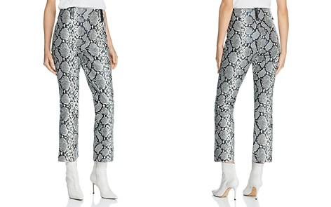 Veda Palmer Cropped Snake-Print Leather Pants - Bloomingdale's_2