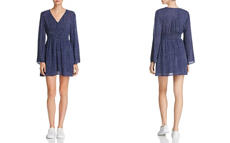 En Créme Dot-Print Dress - Bloomingdale's_2