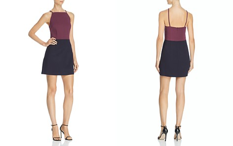 FRENCH CONNECTION Sleeveless Color-Block Dress - Bloomingdale's_2