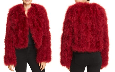Rebecca Minkoff Pacha Feather Jacket - Bloomingdale's_2
